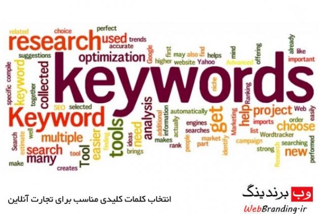 انتخاب کلمات کلیدی مناسب