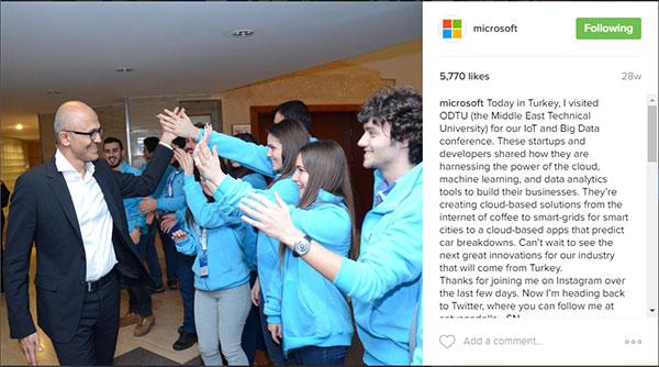 مدیر عامل مایکروسافت
