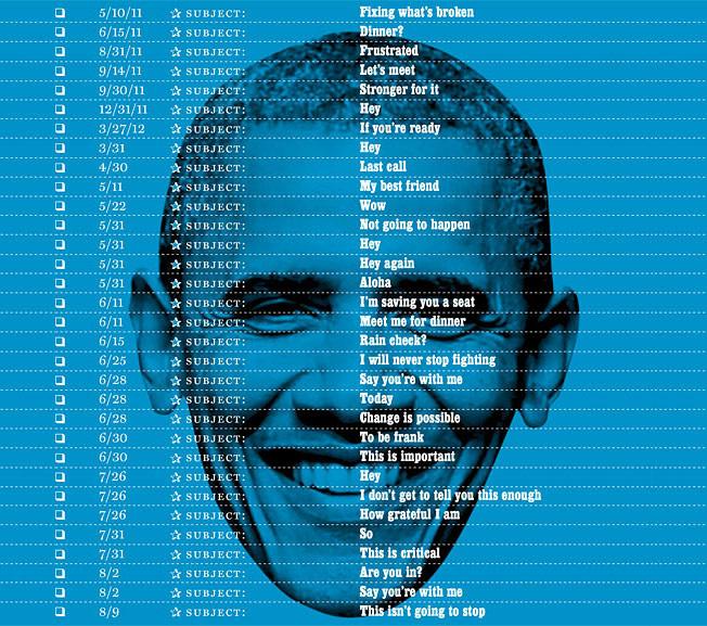اوباما روی جلد