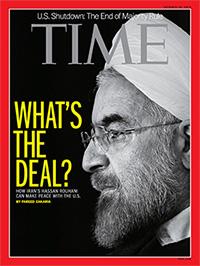 روحانی در مجله تایمز