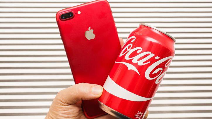اپل و کوکا کولا