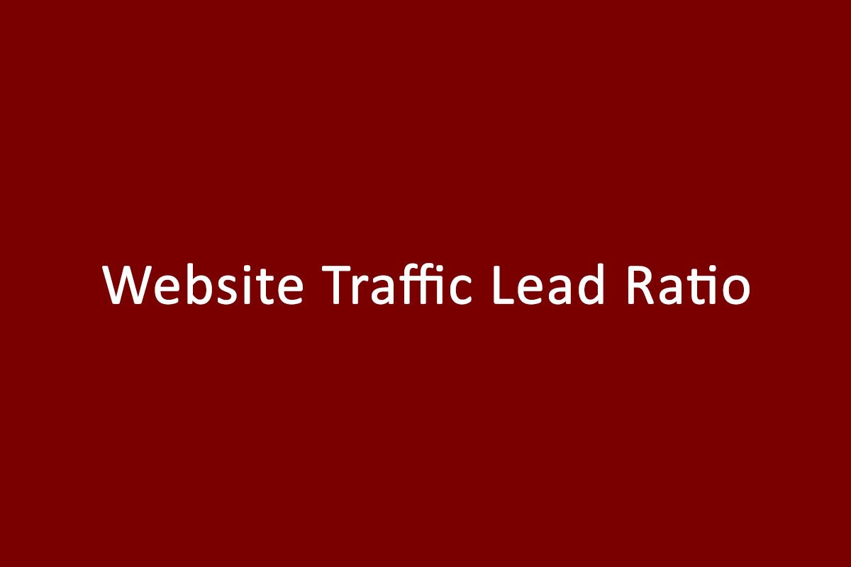 Website Traffic Lead Ratio