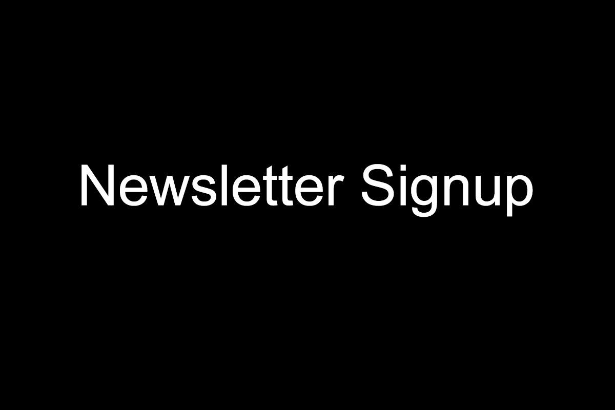 Newsletter-Signup