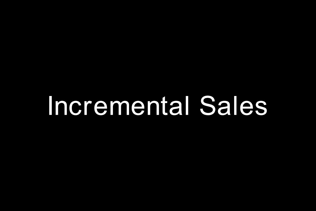 Incremental-Sales