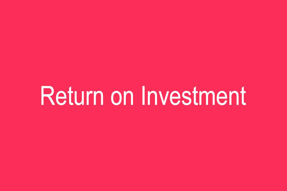 بازگشت سرمایه بازاریابی