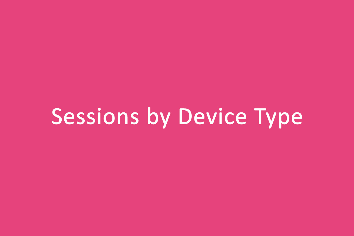 Sessions by Device Type