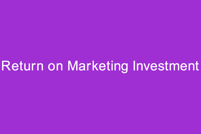 return on marketing investment