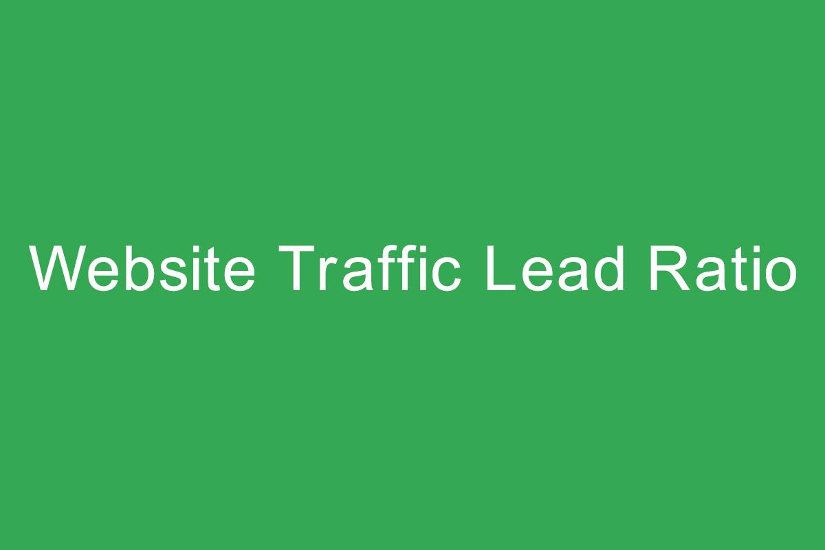 Website-Traffic-Lead-Ratio