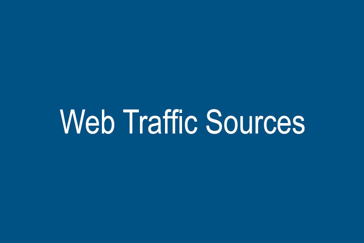 منابع ترافیک وب سایت در متریک های دیجیتال مارکتینگ