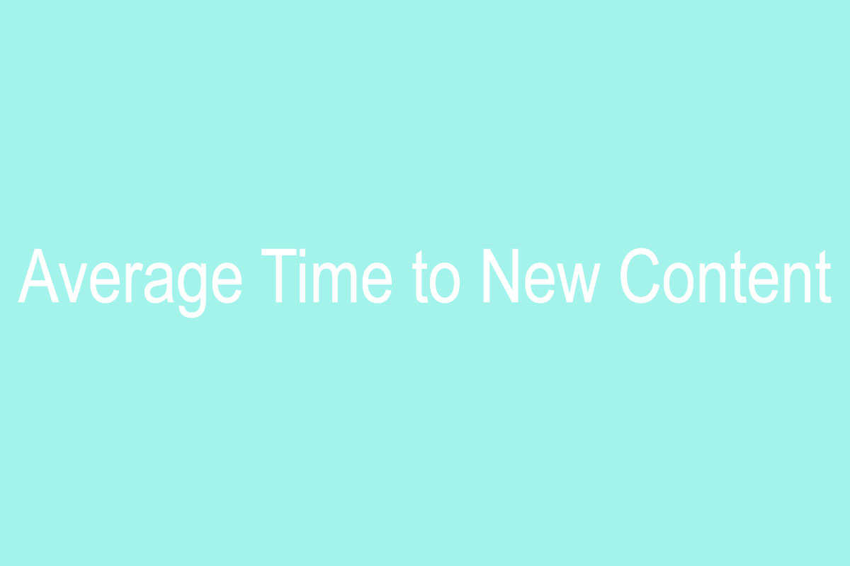 Average-Time-to-New-Content